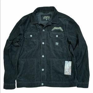 Billabong x Metallica Andy Irons Corduroy Jacket